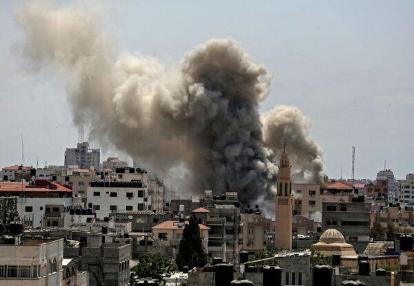 反制巴勒斯坦火攻 以色列发动加沙空袭