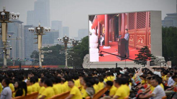 外媒评习近平讲话:中共对人类自由威胁日增