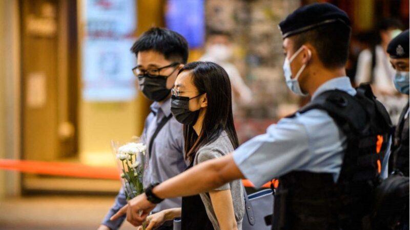 港警禁市民悼念襲警自殺者 學者駁抓人藉口