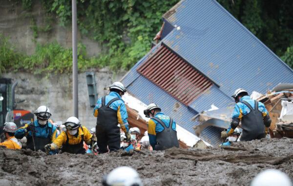日本热海土石流传2人获救 累计5死29失联