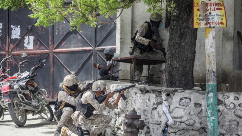 凶嫌闖海地總統臥室開槍 11嫌潛入台灣大使館被抓