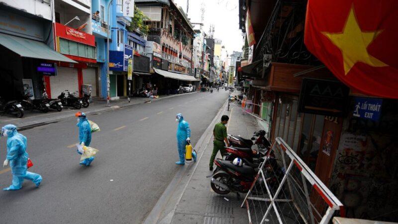 越南連2天確診數創新高 胡志明市封城
