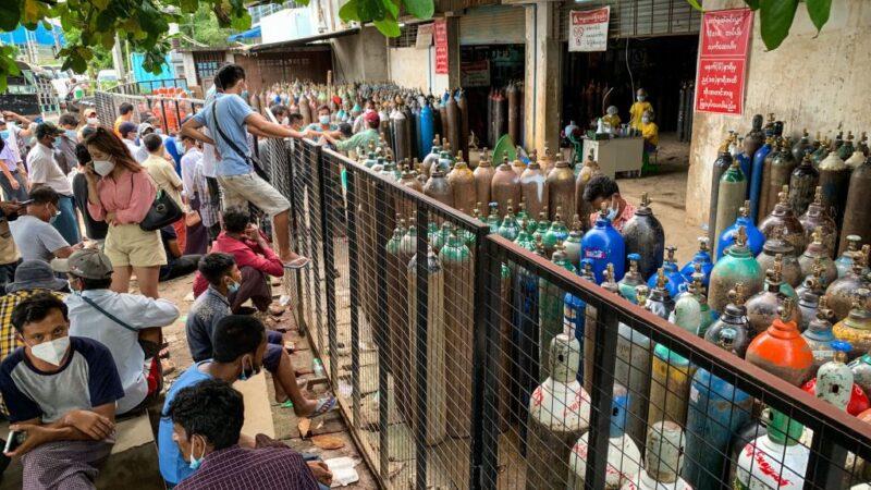 緬甸疫情延燒 軍方偽裝求診抓走志願醫護人員