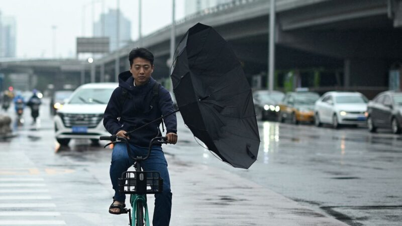 雷暴大風冰雹齊發 中國多地城淹路斷人失蹤(視頻)