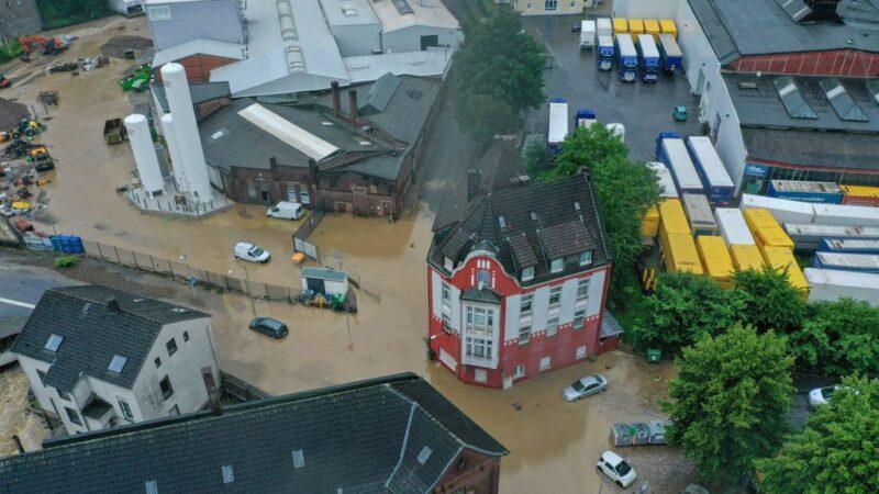豪雨洪患釀災 德國西部至少4死30人失蹤6屋坍塌(組圖)