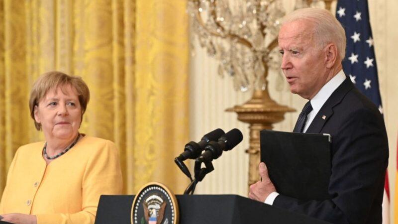 【重播】默克尔与拜登白宫召开联合记者会