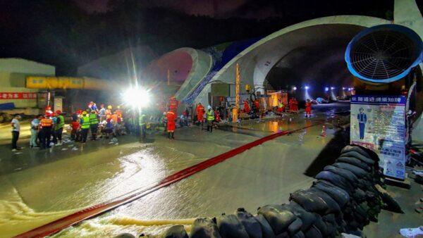 珠海透水隧道13人死亡 1人未尋獲