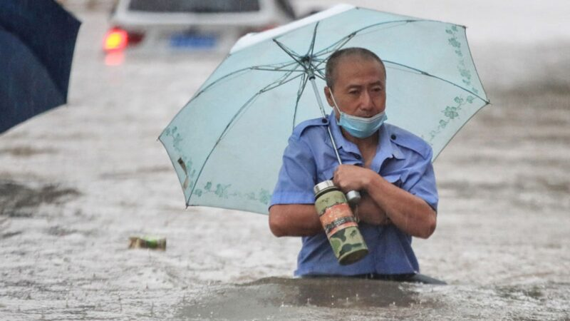 郑州医院淹水停电 600多重症病人情况危险