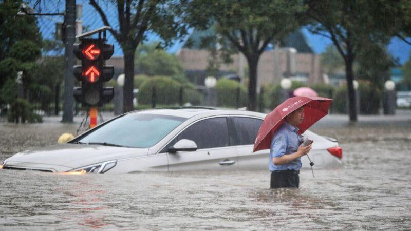 鄭州暴雨天災還是人禍 不同官媒報導不同調