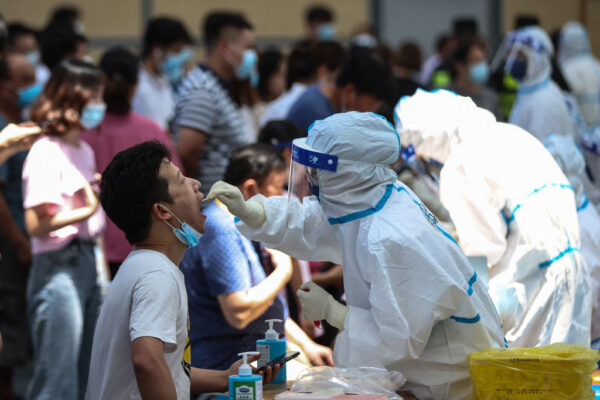 南京承認疫情為德爾塔攻入 一週現40高、中風險區