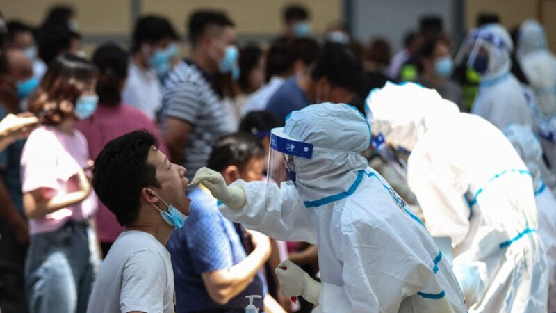 南京機場集中隔離 居民連夜檢測 4地升中風險區