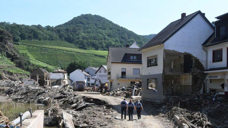 暴雨洪災襲擊西歐 德國提供災民4億歐元金援(組圖)