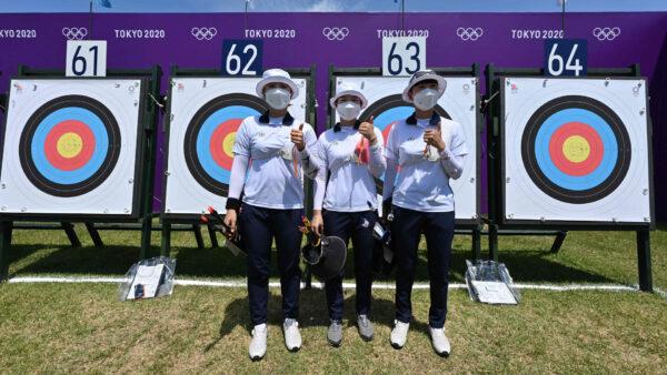 奥运首日传捷报 韩国女子射箭破世界纪录