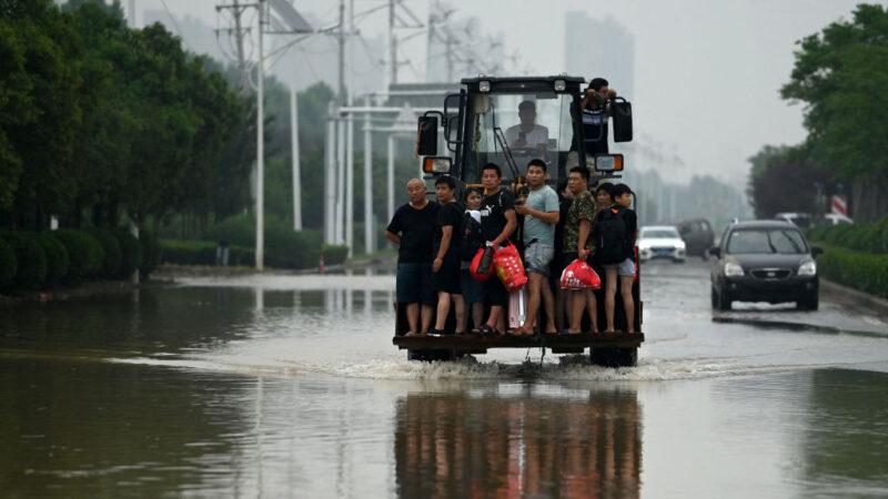 鍾原:河堤決口 河南承認洩洪