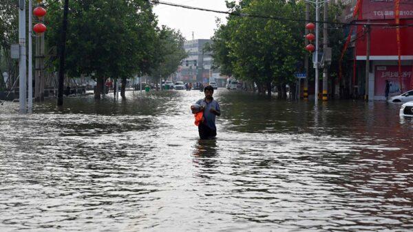 犧牲農村保城市 河南新鄉又傳炸堤