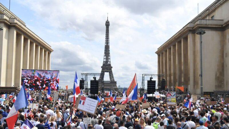 不滿防疫新制 歐洲和澳洲出現示威抗議