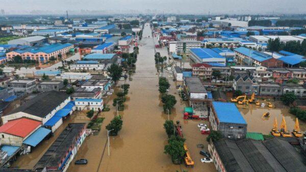 河南洪災:近5萬房屋倒塌 逾百萬牲畜死亡
