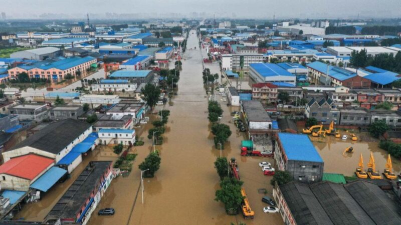 河南洪灾:近5万房屋倒塌 逾百万牲畜死亡
