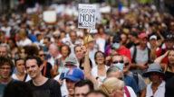 歐洲多國民眾反對疫苗護照 16萬法國人再上街抗議