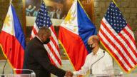 聯美抗中 菲律賓全面恢復美菲間軍事協定