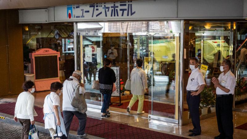 日本熱海土石流7死27人失蹤 近500災民入住飯店