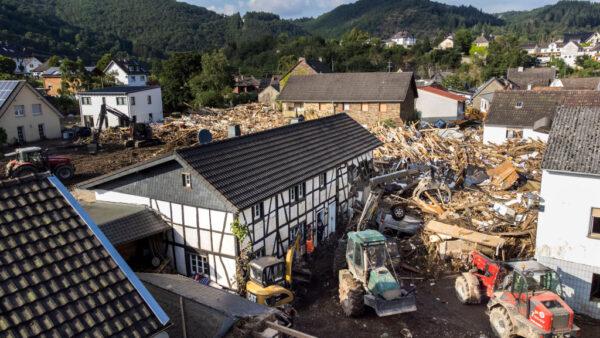 灾难性洪患袭西欧 德、比罹难攀升至少170死