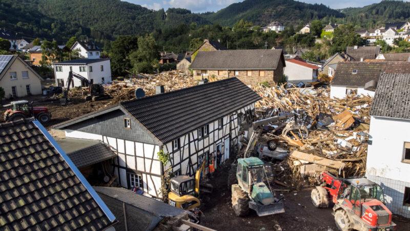 災難性洪患襲西歐 德、比罹難攀升至少170死
