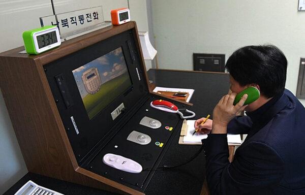 韓朝熱線斷絕年餘 突然恢復所有聯繫管道
