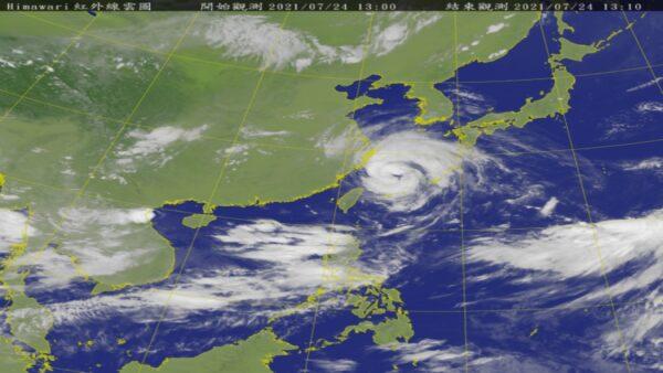 台风烟花逼近浙江 恰逢天文大潮期
