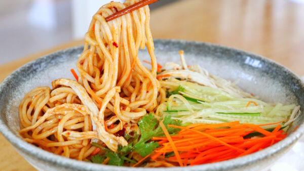 【美食天堂】麻醬雞絲涼麵做法 夏天必吃清爽可口!