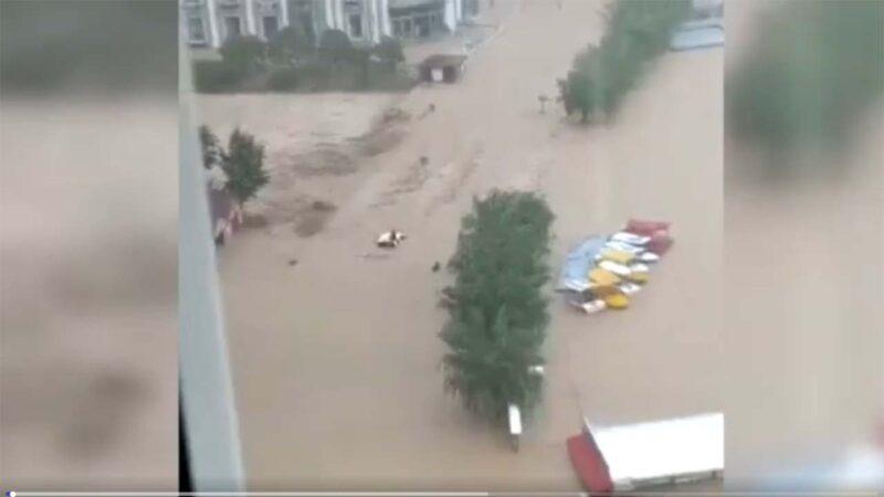 鄭州水庫無預警洩洪14小時 民眾質疑洪災是人禍