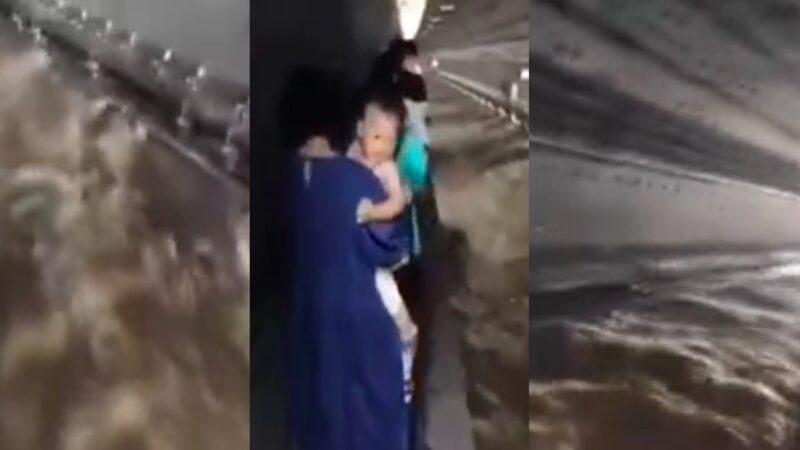 杨宁: 郑州地铁泡了91列 黑布下死了多少人?