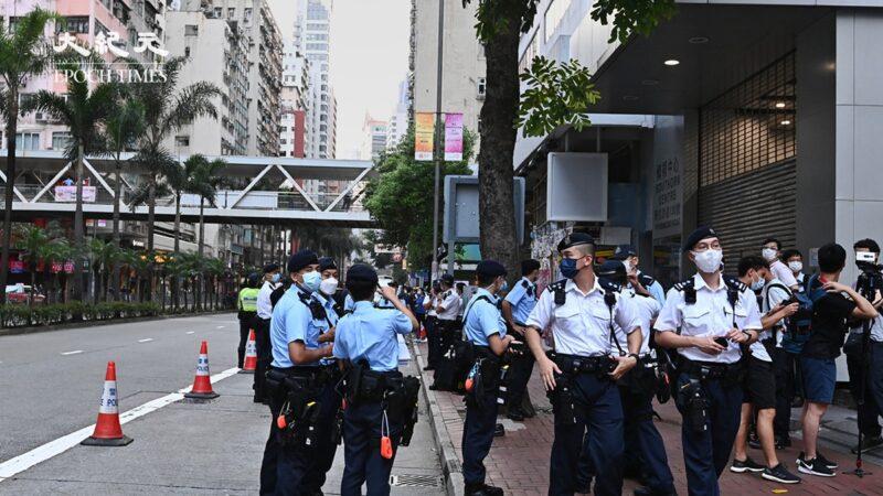 香港七一游行被禁 逾万港警戒备 邹幸彤再被捕