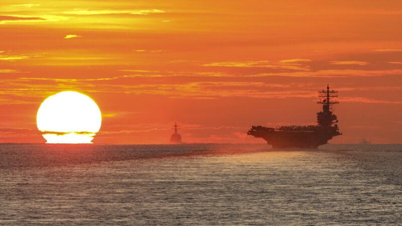 沈舟:美军航母放空西太平洋的新模式