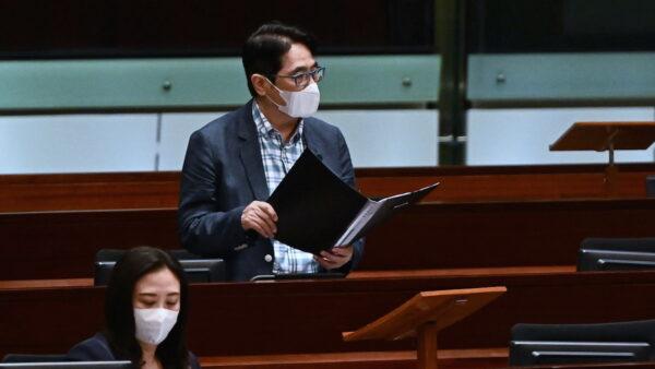 香港亲共议员无中生有 施压禁止法轮功