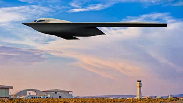 美国最新B-21隐形轰炸机 概念图曝光