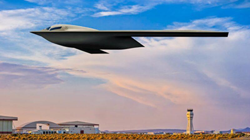 美國最新B-21隱形轟炸機 概念圖曝光