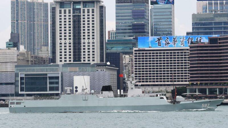 沈舟:中共海軍訓練繼續露餡