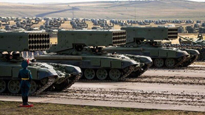 中俄军力对比 更现实的近邻威胁(一)