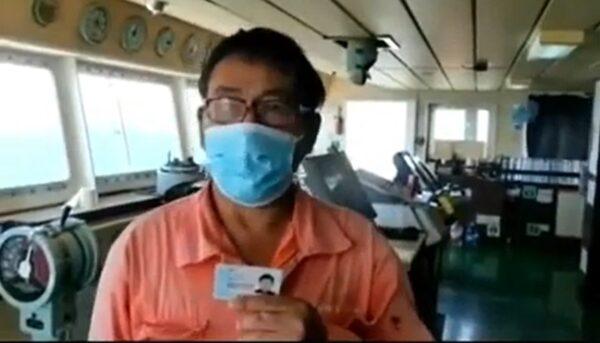 「弘進輪」多人發燒 江蘇拒進港 船員哽咽求救