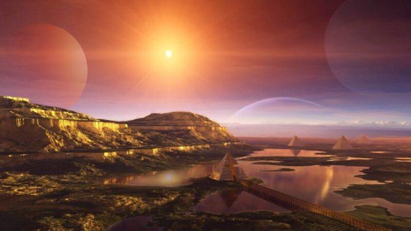 金星惊现城市废墟、金字塔等  存在过高等文明?