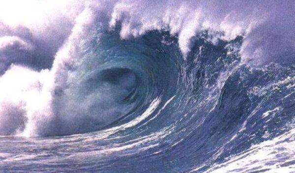 海啸的威力—大难来临的逃生法