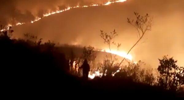 火氣球引大火 聖保羅州立公園燒毀大半面積