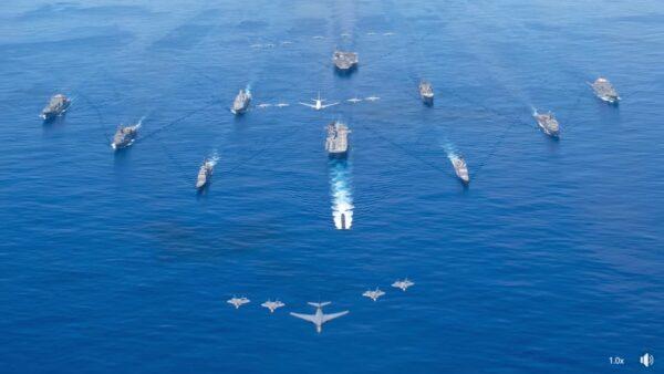 威懾中共 美軍演橫跨17時區 冷戰以來最大規模