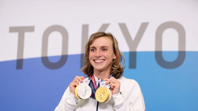 美國女「飛魚」再奪金   東奧800米自由式三連霸