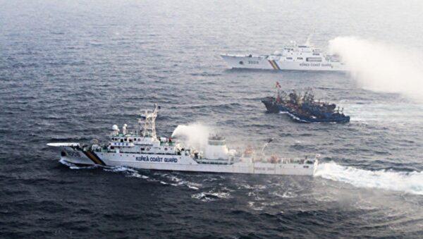文件泄朝鲜枪击中国渔民 扣渔船