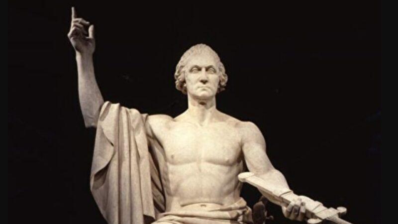 美國古典藝術:霍雷肖·格里諾的「喬治·華盛頓像」