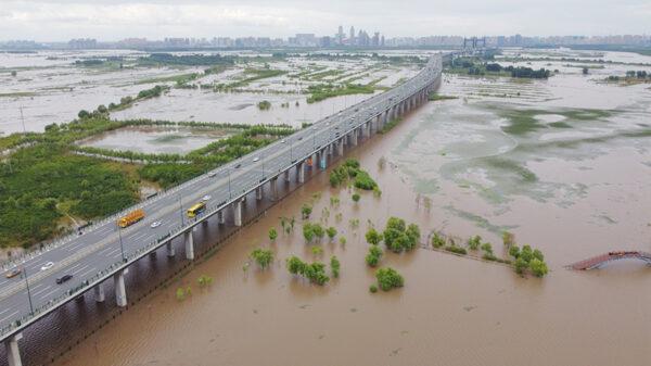 黑龍江5河水位超警戒 松花江升至3級預警