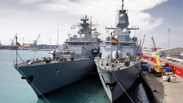 維護南海秩序 德軍艦20年來首次開啟印太之旅