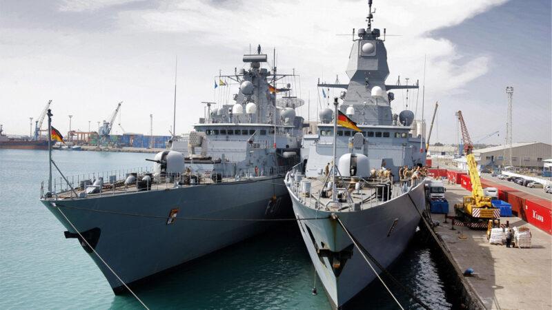维护南海秩序 德军舰20年来首次开启印太之旅